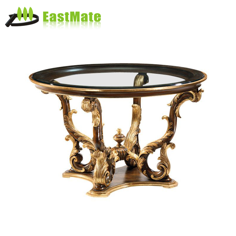 Luxury Newest Design Perfect Piano Lacquer Solid Wood Coffee Table