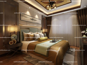 5 Star Hotel King-bedroom Furniture Set