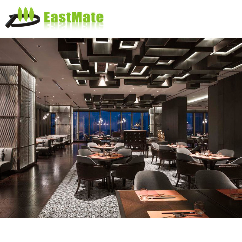 Latest Design Luxury wooden tables and chairs for restaurant