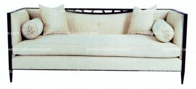 Wooden Furniture Hotel Sofa Concise Style Furniture Leisure Series Sofa