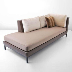 Nice Design Wooden Frame Chaise Lounge Chair