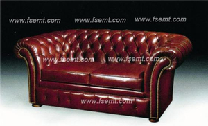 Modern Leather Sofa, Italian Hotel Leather Sofa Set