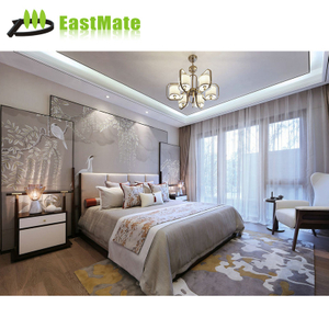 hotel furniture modern bedroom sets wooden bed for sale